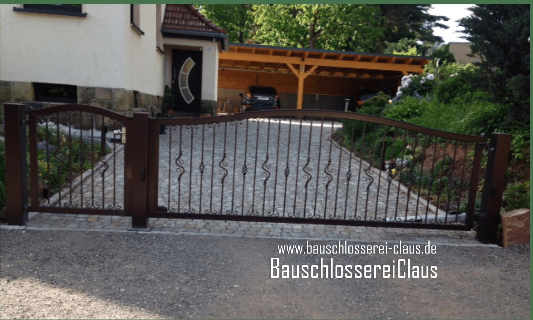 Bauschlosserei Claus Referenzen Zaun Und Torbau